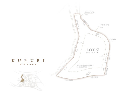 Kupuri Homesite 7- $2,300,000 USD including cabana