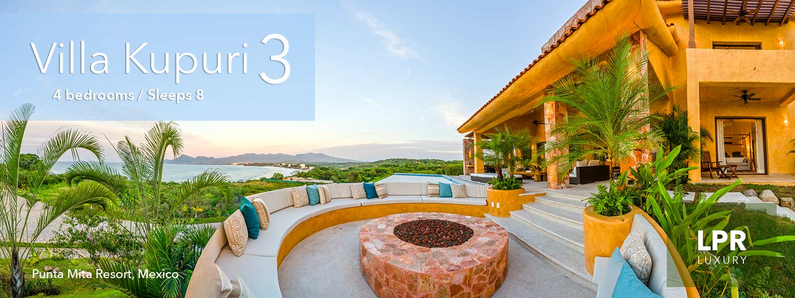 Villa Kupuri 3 - Punta Mita Resort, Mexico - Luxury vacation rentals and real estate