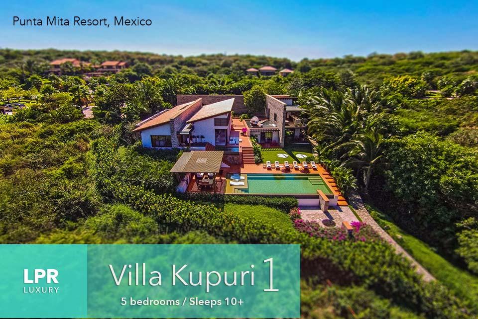 Villa Kupuri 1 - Punta Mita Resort, Mexico - Luxury vacation rentals and real estate