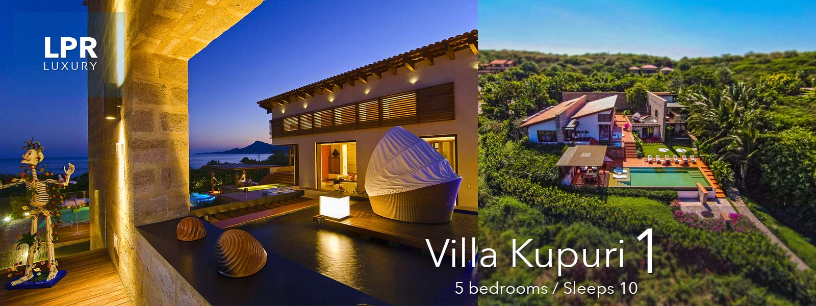Villa Kupuri 1 - Punta Mita Resort, Mexico - Luxury vacation rentals and real estate